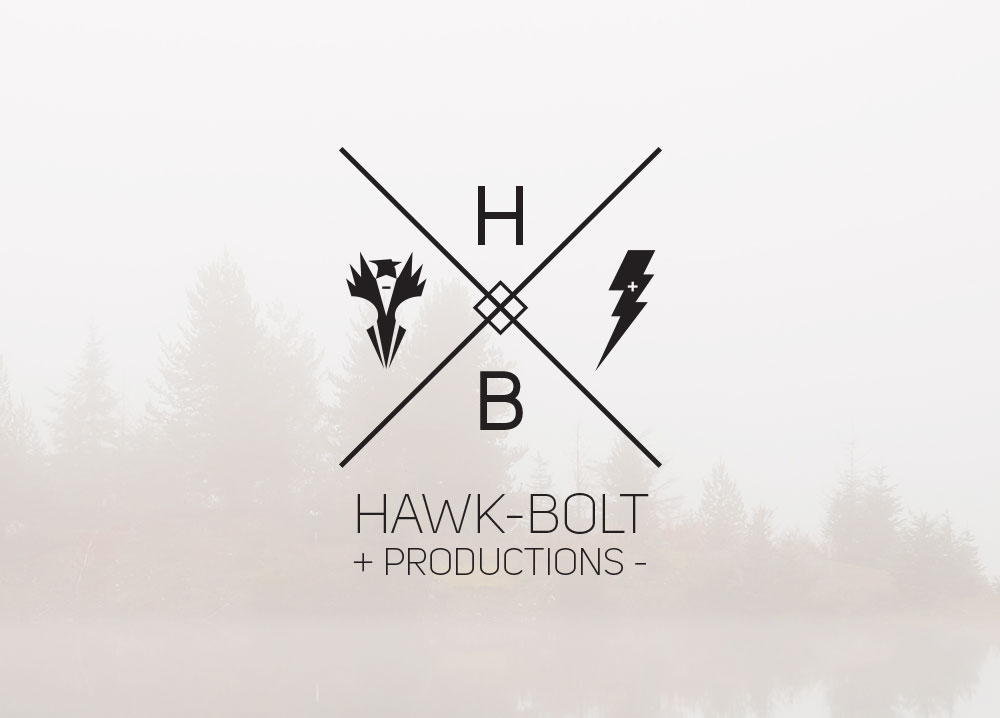 Hawkbolt video production identity design thumbnail