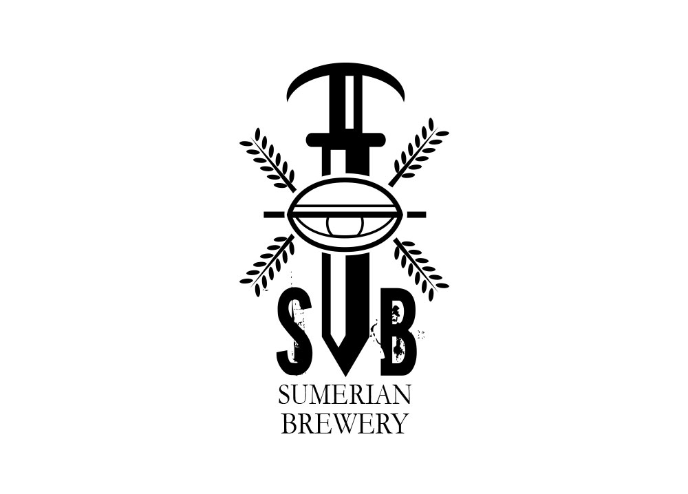 sumerian brewery redmond washington logo design
